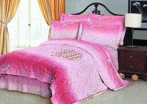 100% Poliéster 70gsm tecido 220 centímetros pigmento impresso para a cama