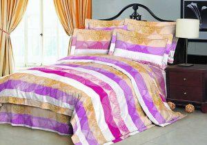 100% Полиэстер микрофибра ткань персика 70gsm 230cm Пигмент Печатный для постельных принадлежностей