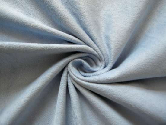 Polyester micro faux warp suede fabric brushed 170 gsm