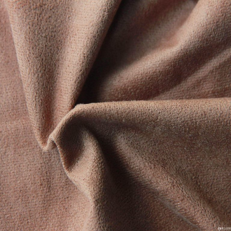 Polyester micro faux warp suede fabric brushed 220 gsm
