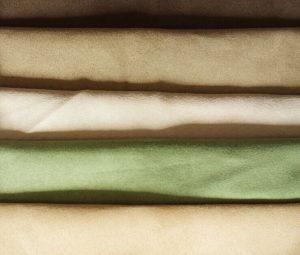 Polyester micro faux tissu de velours de chaîne brossé 120 gsm