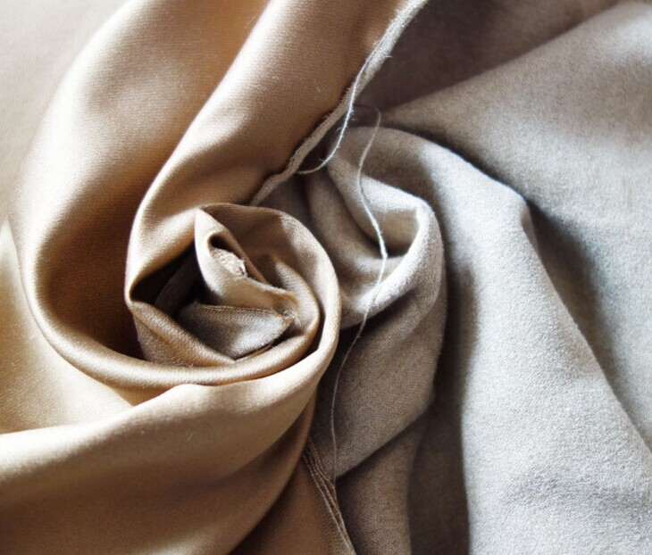 Polyester micro faux warp suede fabric brushed 130 gsm