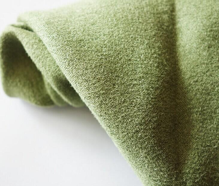 Poliestere micro finto ordito del tessuto della pelle scamosciata spazzolata 140 gsm