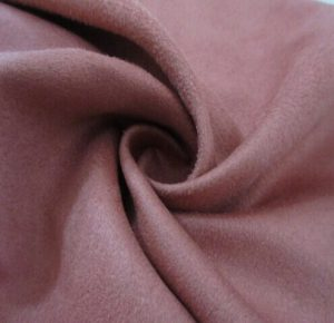 Polyester synthetic microfiber warp suede fabric 150 gsm