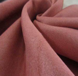 microfibre synthétique Polyester tissu de suède de chaîne 160 gsm