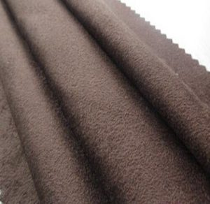 Polyester synthetic microfiber warp suede fabric 180 gsm