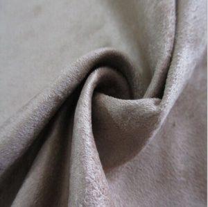 microfibre synthétique Polyester tissu de suède de chaîne 200 gsm