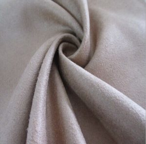 Polyester synthetic microfiber warp suede fabric 220 gsm