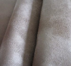 Polyester synthetic microfiber warp suede fabric 240 gsm