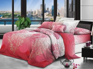 100% Polyester fabric 90gsm 230cm Disperse Printed for bedding