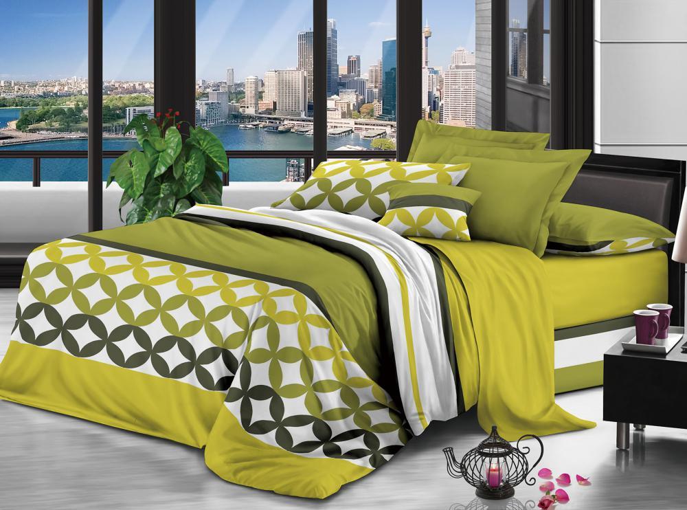 100% Полиэстер микрофибра ткань персика 90gsm 230cm дисперсных Printed для постельных принадлежностей