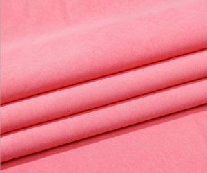 Nylon Polyester Tissu microfibre Moss Peach peau 110 gsm