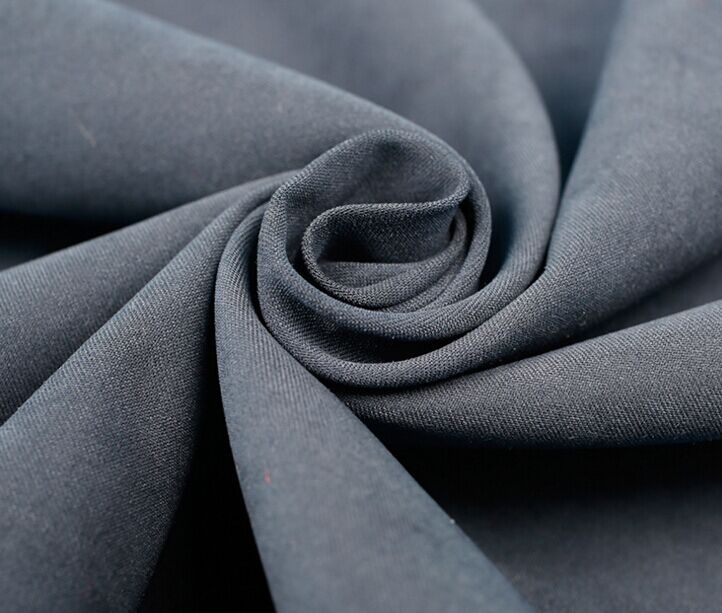 Nylon Polyester Tissu microfibre Moss Peach peau 125 gsm